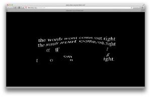 Eduardo Kac: Accident, 1994 (screenshot June 4, 2015)