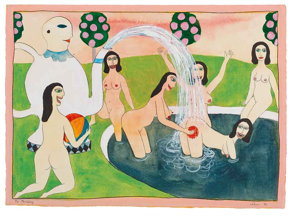 Guided tour: Hans Schärer - Madonnas & Erotic Watercolours / Inhabitations - Phantasms of the Body in Contemporary Art