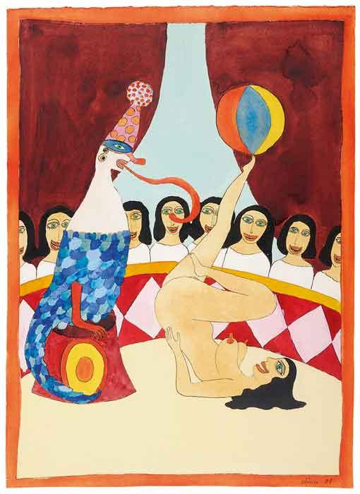 Reading: Hans Schärer - Madonnas & Erotic Watercolours