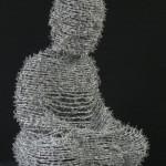 Marc Moser: Buddha, ca. 70 x 50 cm