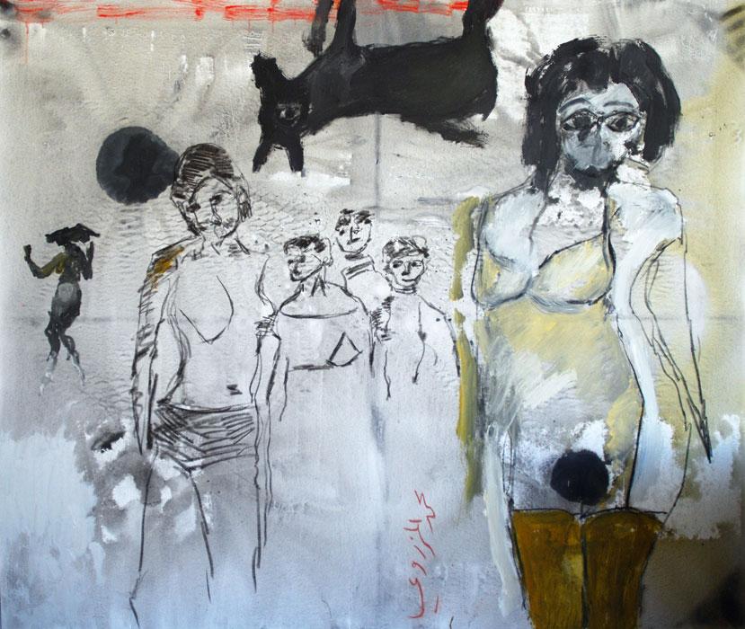 Mohamed Al Mazrouei - Expressive Emirati Artist