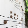 Nevin Aladağ - Marsch - Backwall of Kunsthalle Basel