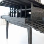 René Fahrni: Weekend Retreat, 2014/15, Holz, Farbe