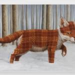 Sean Landers: Fox (Litchfield, CT), 2015, oil on linen, 38 x 55 in, 96.5 x 139.7 cm, © Sean Landers