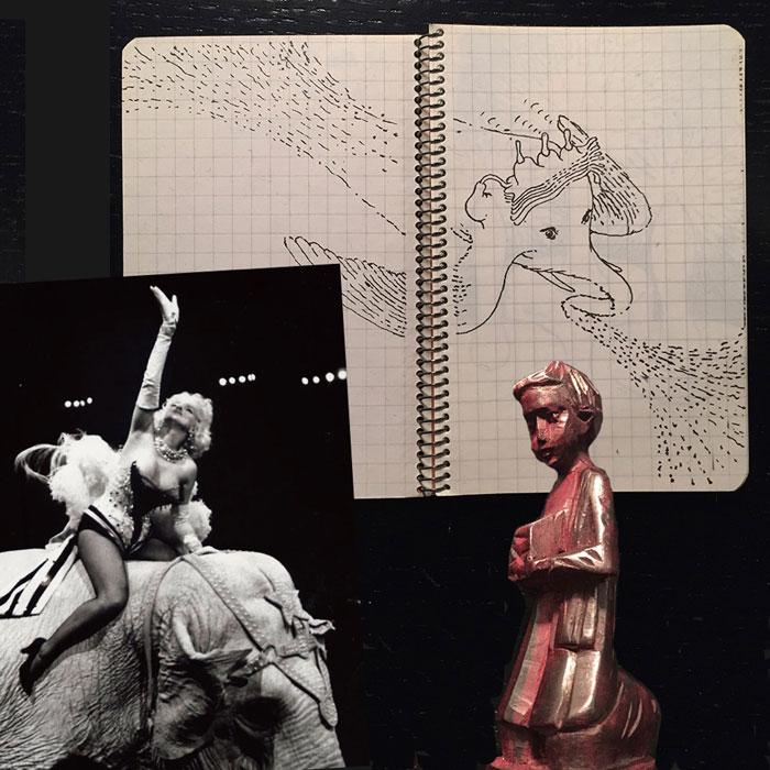 Finissage: Alphons A's teatro della memoria elefantesca