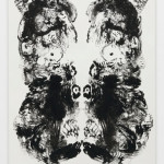 Mark Wallinger: id Painting 12, 2015, Acrylic on canvas, 360 x 180 cm, 141 3/4 x 70 7/8 in