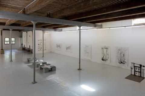 Exhibition in Lieu d'Art Contemporain Hameau du Lac F-11130 Sigean 9. 4.-22.5.2016