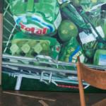 Flyer: Istvan Balogh, Mira Hartmann, Oliver Lang, Pat Noser, Ursula Rutishauser, Lena Maria Thüring, Gabi Vogt - Kein schöner Land, 2016, Kunstraum Baden