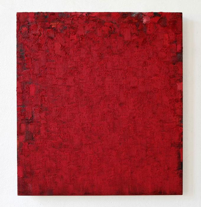Opening: Peter Tollens - Transition - orange grau rot grün weiss / Italo Valenti - Zeichnungen