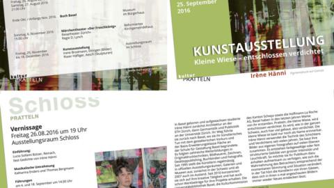 Kunstausstellung Kleine Wiese – entschlossen verdichtet