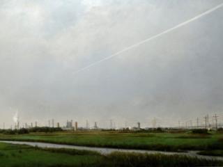 Jose Anico: Near the Forbidden Zone, 2013, Oil on canvas, 48 x 67 in, 121.9 x 170.2 cm