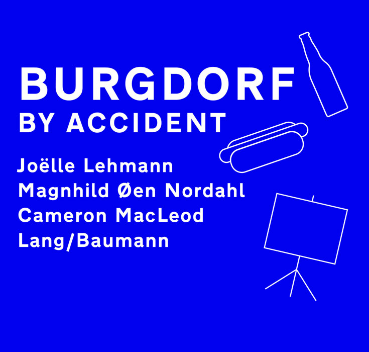 Lecture: Burgdorf by Accident