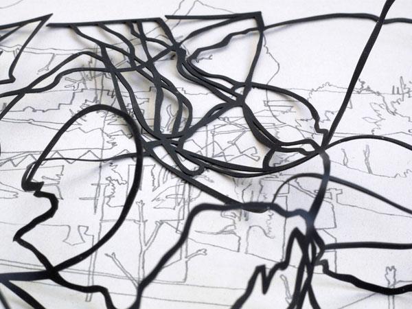 Opening: Jeroen Geel und Sandra Kühne: Spatium - Zeichnungen und Papierschnitte
