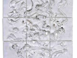 Karl Otto Götz: Ragar II, 2000, 200 x 200 x 5,5 cm