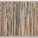 Benjamin Butler: Yellow Forest, 2016, oil on linen, 55 1/2 x 82 5/8 inches, 140 x 210 cm