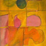 Willem de Kooning: Abstract, 1939-40, Oil on canvas, 37 1/4 x 34 1/4 in.