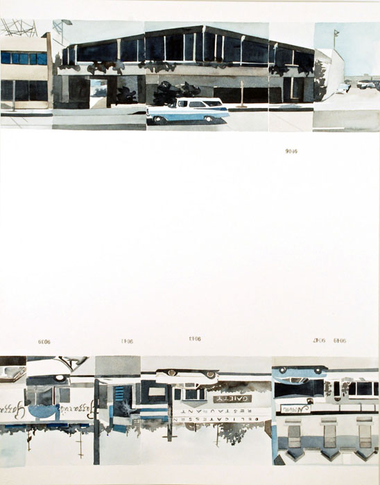Amy Park - Ed Ruscha's Every Building on the Sunset Strip