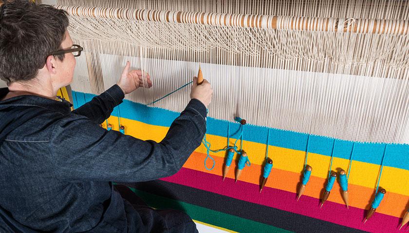Workshop: Somerset Winter Workshop: Sculptural Tapestry