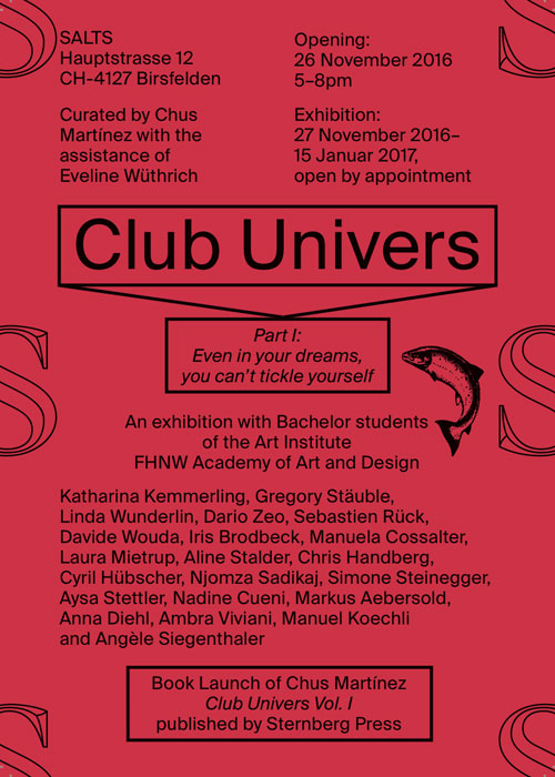 Opening: Club Univers
