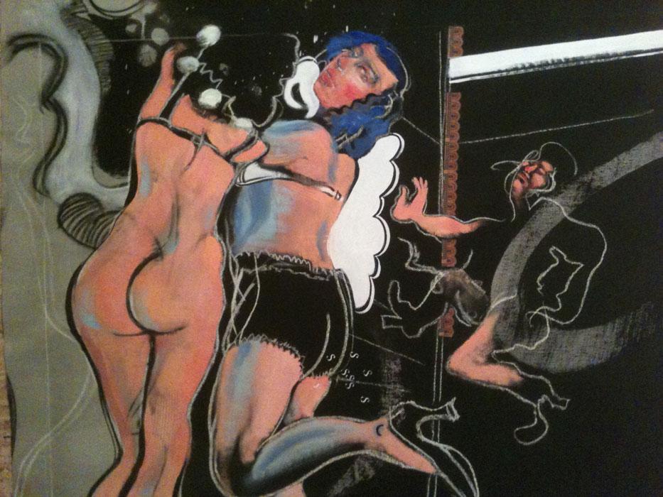 Finissage: POP-UP # 8 - J.J. White / Hans-Peter Profunser - Alicante brothel & the seven deadly sins