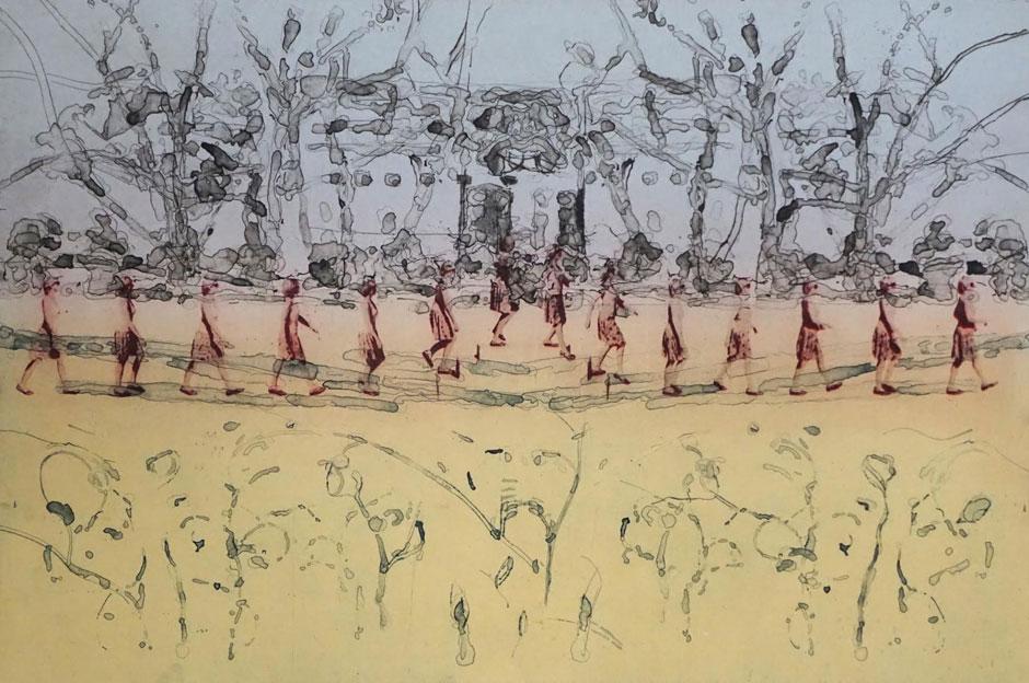 Opening: Peik Larsen - Walking Prints