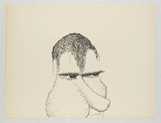 Philip Guston - Laughter in the Dark - Drawings from 1971 & 1975