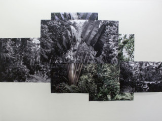 Ausstellungsansicht: Cantonale Berne Jura 2016, Treppenhaus, Julie Lovens, Foto: Julie Lovens