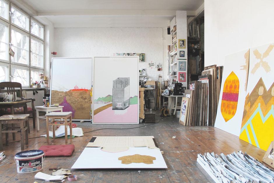 Artist Talk: Sonja Kuprat - Wolken und Firmament / Michael Stoll - Fluchten