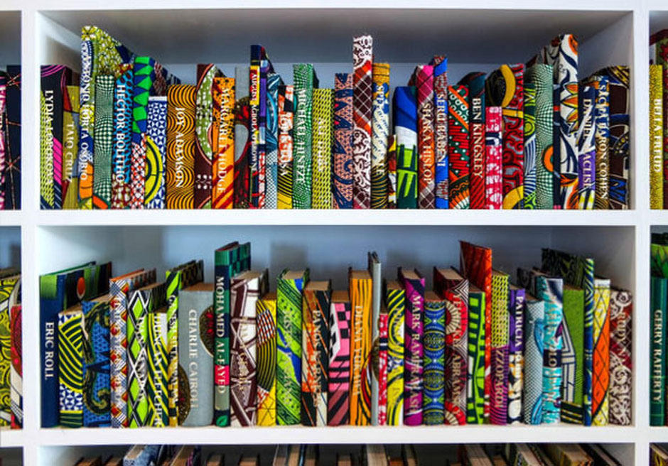 Opening: Yinka Shonibare MBE - Prejudice at Home: A Parlour, a Library, and a Room