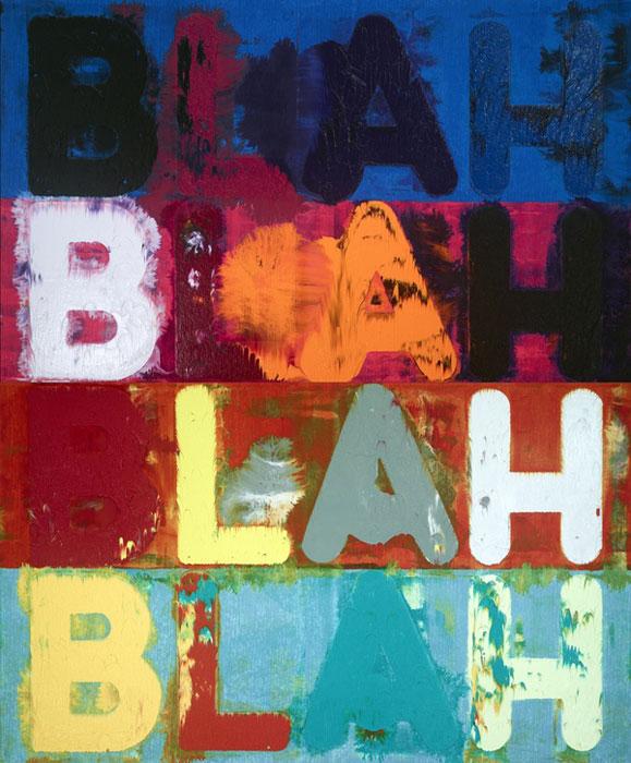 Opening: Mel Bochner - Blah, blah, blah
