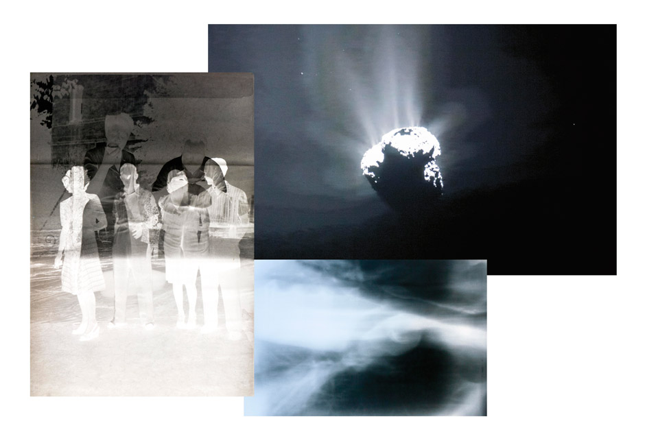 Opening: Florence Iff - 67P - Licht Zeit Raum