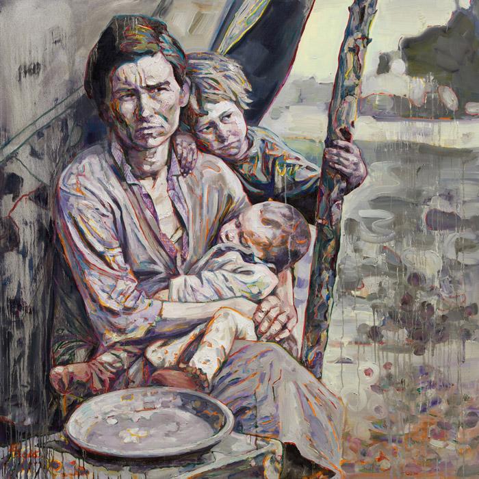 Hung Liu - Promised Land