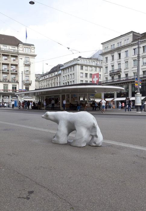Guided tour: Gasträume 2017 - Public Art in Zurich