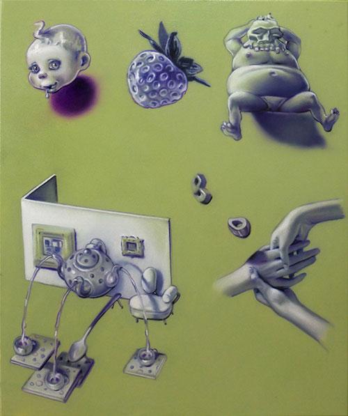 Camille Medardus Hagner - Monochrome Morphologie