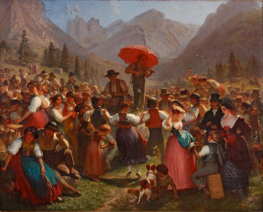 Guided tour: Die Pracht der Tracht - Schweizer Trachten in Kunst und Kunstgewerbe