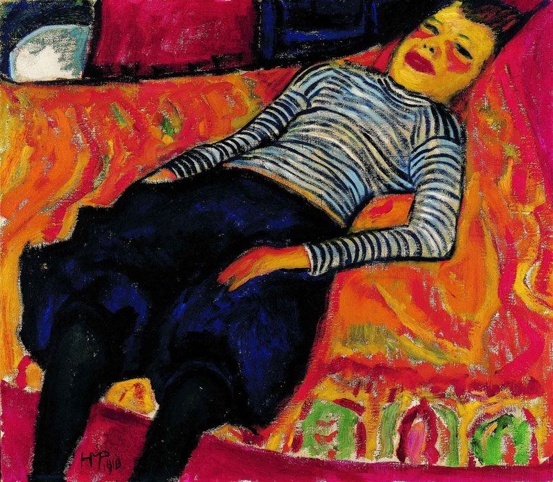 Open studio: Back to Paradise - Master Pieces of Expressionism from the Aargauer Kunsthaus and the Osthaus Museum Hagen