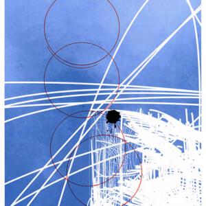 Claudia Fellmer: Melancholie Ink 7, 2017, C-Print (Epson), 29.7 x 21 cm, Tinte (MontBlanc und IndiaInk)