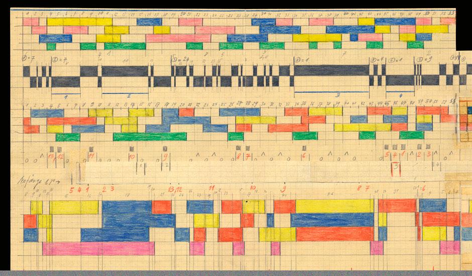 Guided tour: Mondrian-Musik. Die graphischen Welten des Komponisten Hermann Meier