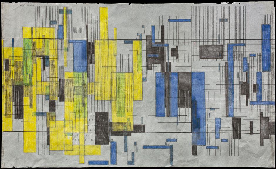 Opening: Mondrian-Musik. Die graphischen Welten des Komponisten Hermann Meier