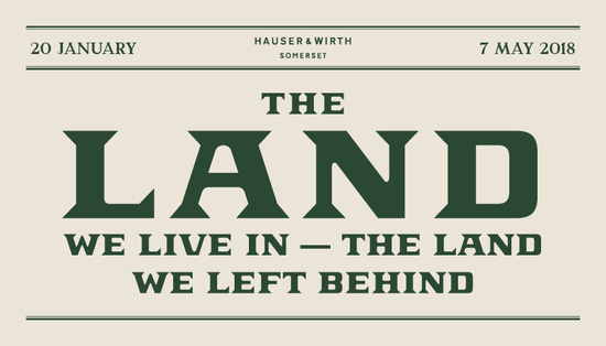 Opening: The Land We Live In - The Land We Left Behind