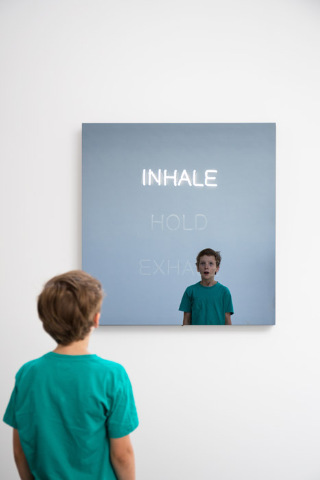 Jeppe Hein - Inhale - Hold - Exhale