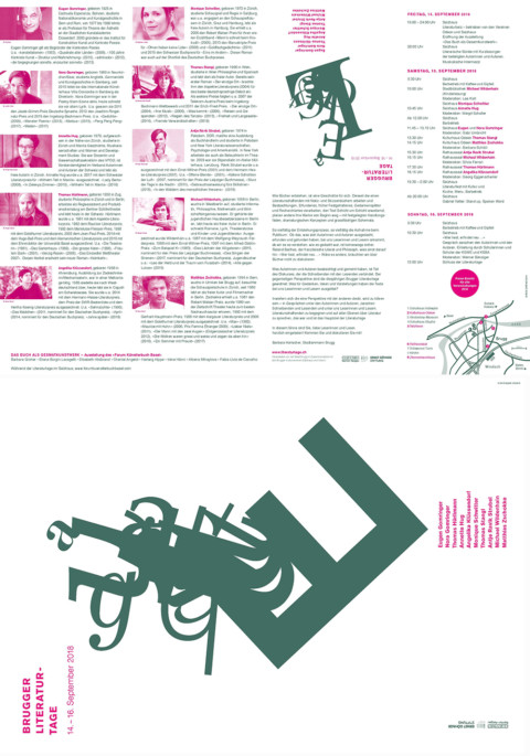 Literaturtage Brugg: Das Buch als Gesamtkunstwerk – Ausstellung des Forum Künstlerbuch Basel