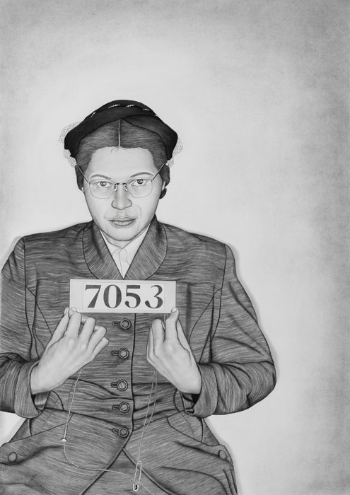 Lava Thomas - Mugshot Portraits - Women of the Montgomery Bus Boycott