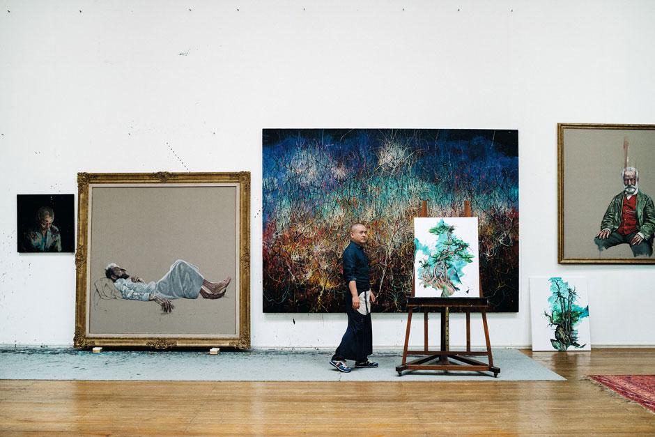 Talk: Zeng Fanzhi - In the Studio