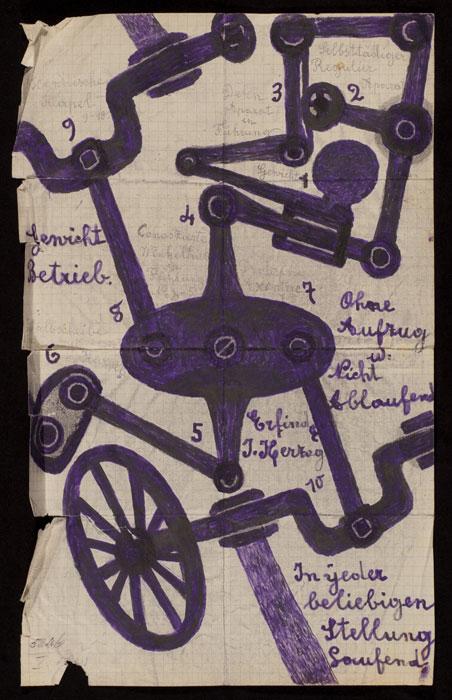 Guided tour: Extraordinaire! Unbekannte Werke aus psychiatrischen Einrichtungen in der Schweiz um 1900