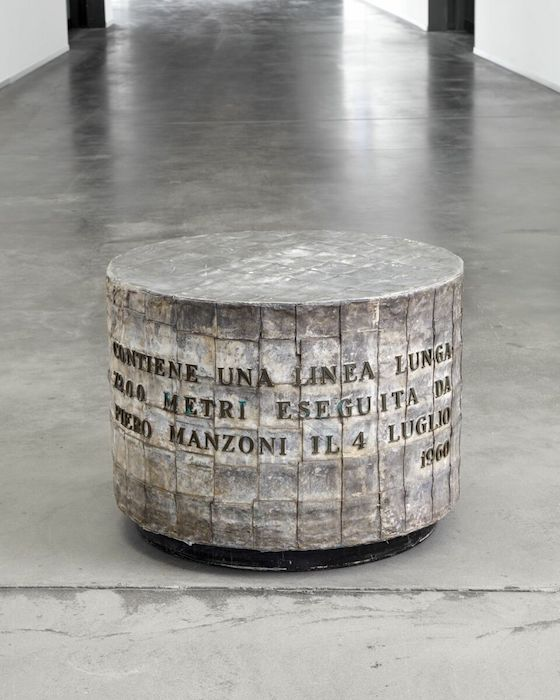 Piero Manzoni - Lines / Materials of His Time