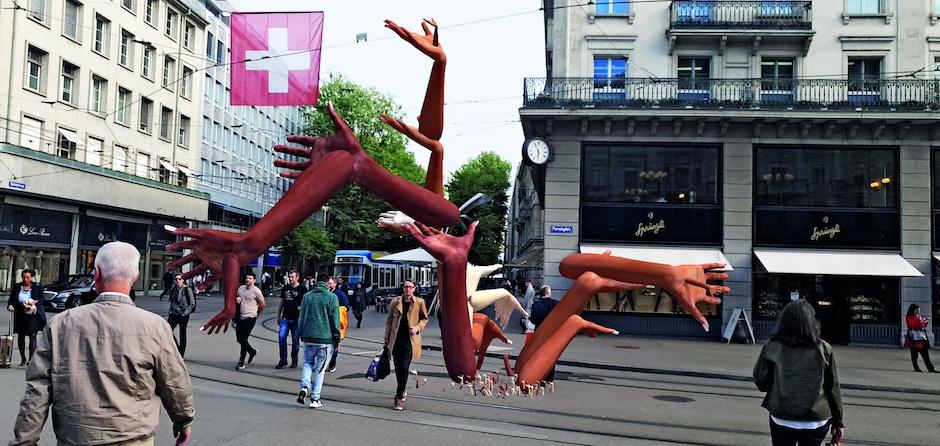 Guided tour: Gasträume 2019 - Public Art in Zurich
