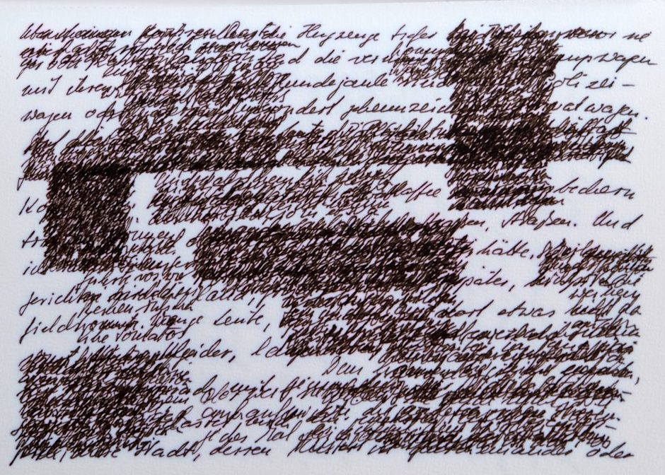 Zsuzsanna Gahse - Schriftbilder