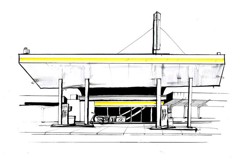 Urban Sketchers – Urbane Landstrasse
