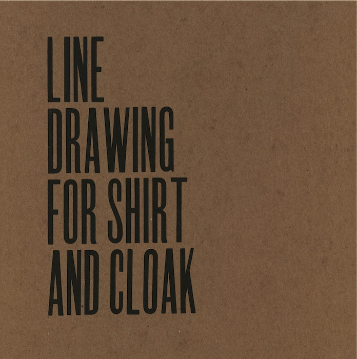 Theaster Gates - Line Drawing for Shirt and Cloak